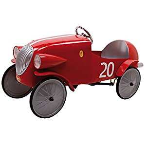 Baghera 1924F Véhicule pour Enfant Bolide Rouge