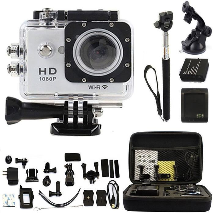 Kebo 2.0″ WIFI 1080P Go Sport Pro Action Waterproof Camera 30M Diving