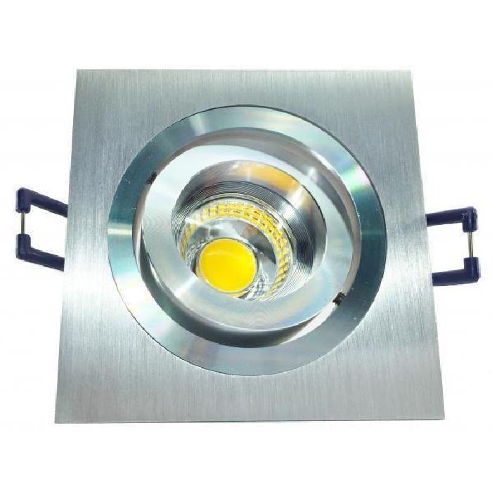 92 mm Type de culot : GU10 Type d'ampoule : LED Matière : Aluminium