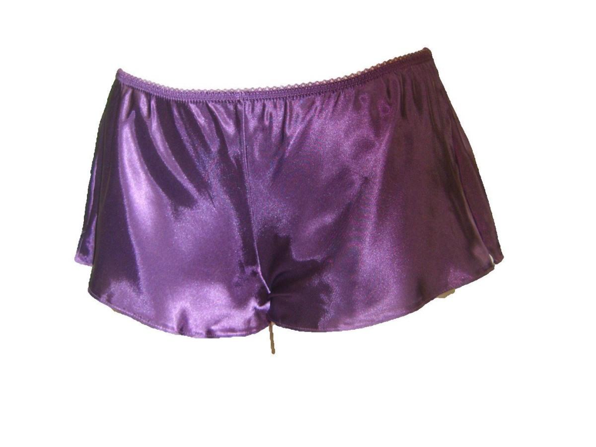 Culottes soie Satin culotte française Lingerie sous vêtements