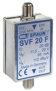 Spaun SVF 20 F Amplificateur satellite/linéaire Import Allemagne NEUF