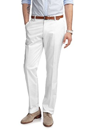 ESPRIT Collection Pantalon de Costume Homme Blanc (100 White