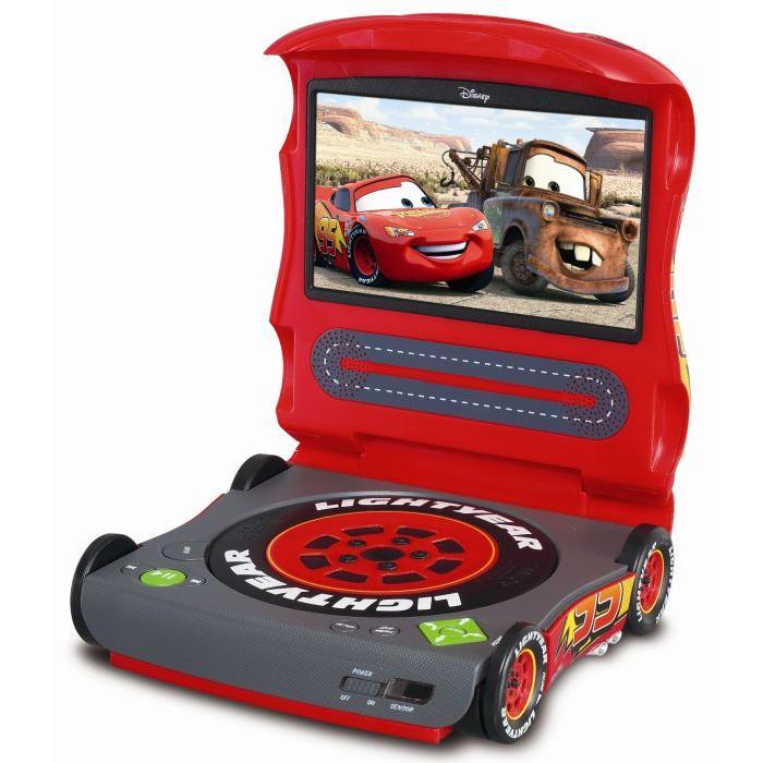 Lecteur DVD/DivX portable Cars lecteur dvd portable, prix pas cher