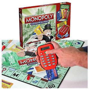 Monopoly avec banque electronique jeu de societe nouveau 2015 scelle