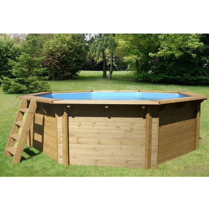 Piscine bois topiwall for Kit piscine en bois