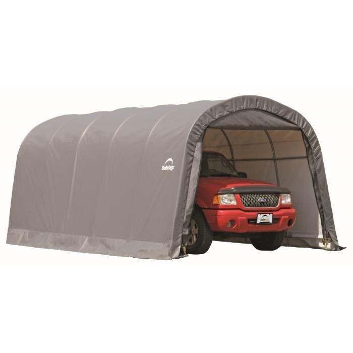 Garage en toile Surface utile : 22,57 m² Cadre en acier de haute