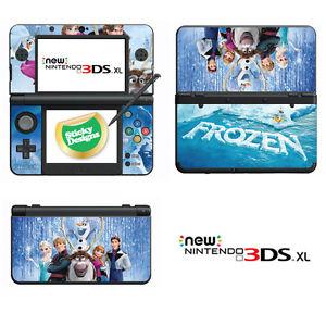 Disney Frozen autocollant en vinyle pour Nintendo 3DS XL (avec C Stick