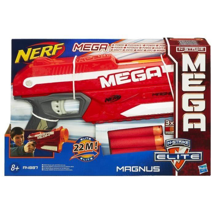 NERF Mega Elite Pistolet Magnus Achat / Vente pistolet mousse