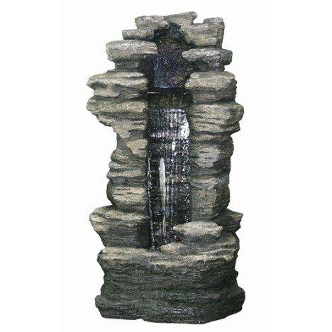 Longueur de la fontaine (en cm) : 70 Longueur du bassin (en cm) : 70