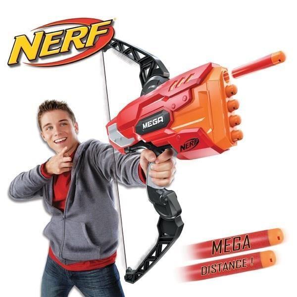 NERF Elite Mega Arc Achat / Vente arc à fléchette mousse