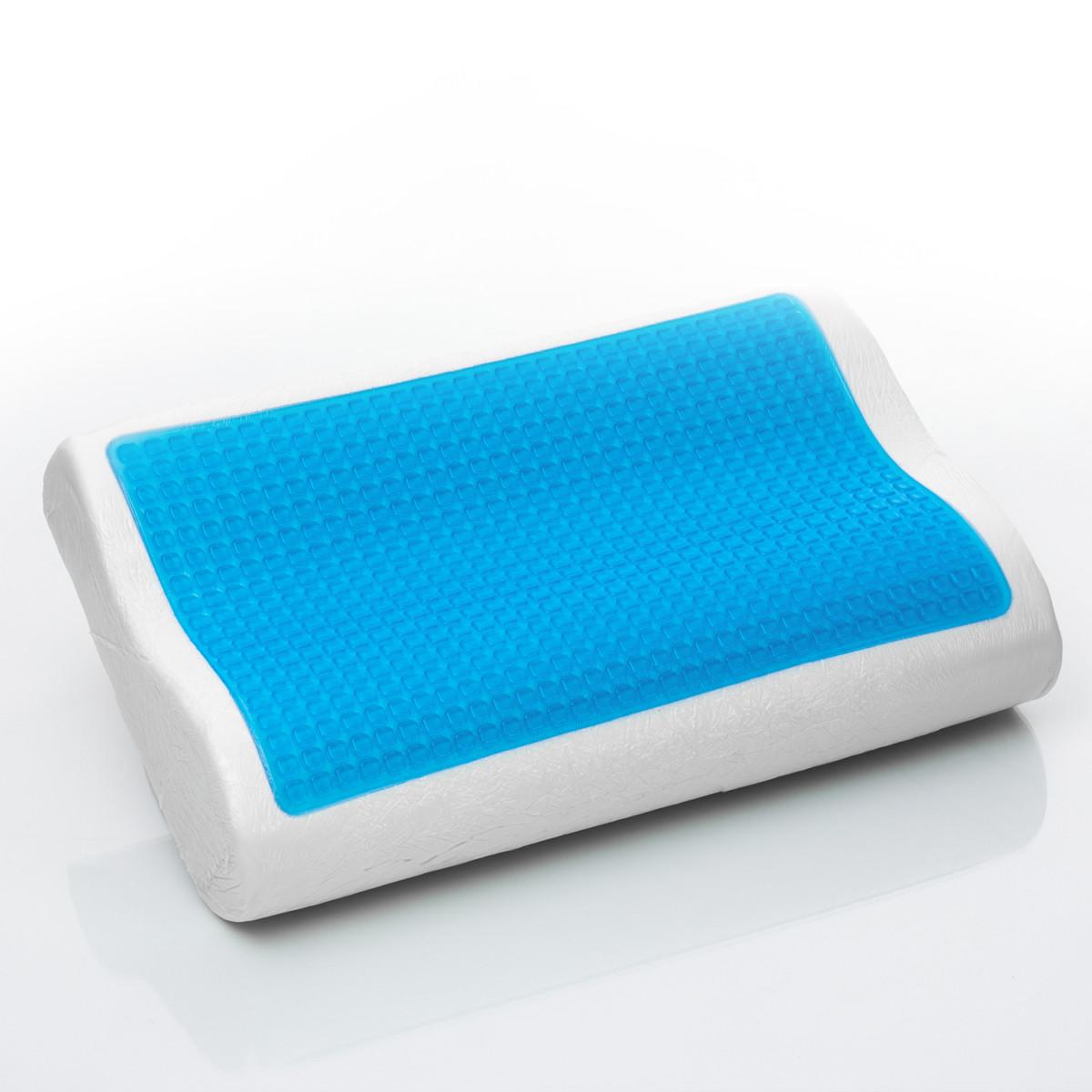 Oreiller a memoire de forme avec le gel En mousse Refroidisseur 50×30