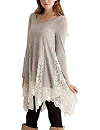 tunique grande taille Robes / Femme : Vêtements
