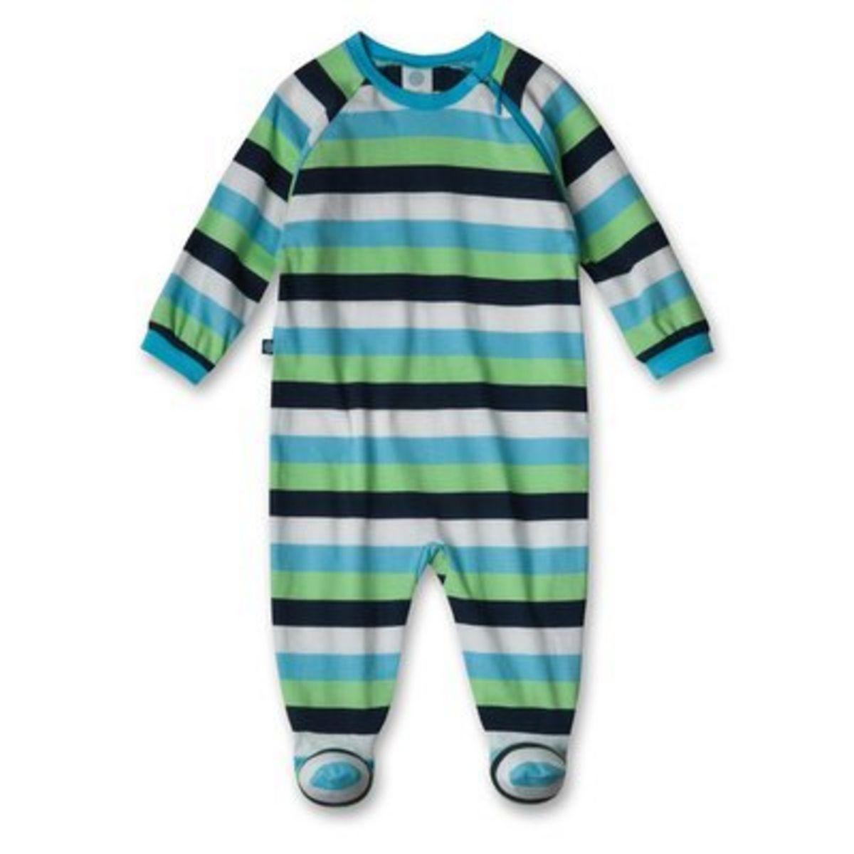 SANETTA La grenouillère rayée tenues de nuit bébé pyjama bébé