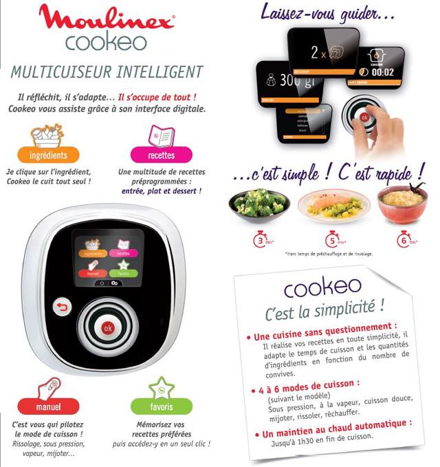 Moulinex Ce 701100 cookeo pas cher Achat / Vente Cuiseur vapeur