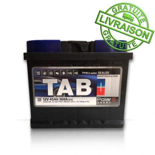 Tab Batterie de démarrage Vl 12V 45 Ah 360A D+504502 Mf pas cher