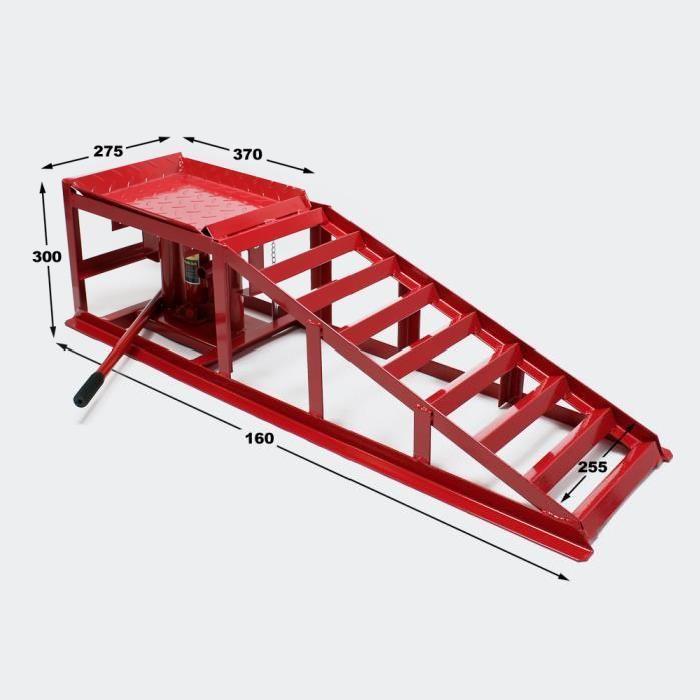 Rampe de levage 2000 kg avec crics hydrauliques Achat / Vente pont d