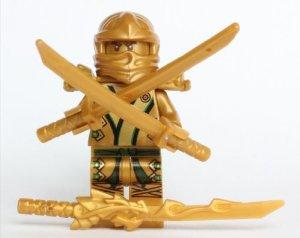 LEGO Ninjago The GOLD Ninja: Jeux et Jouets