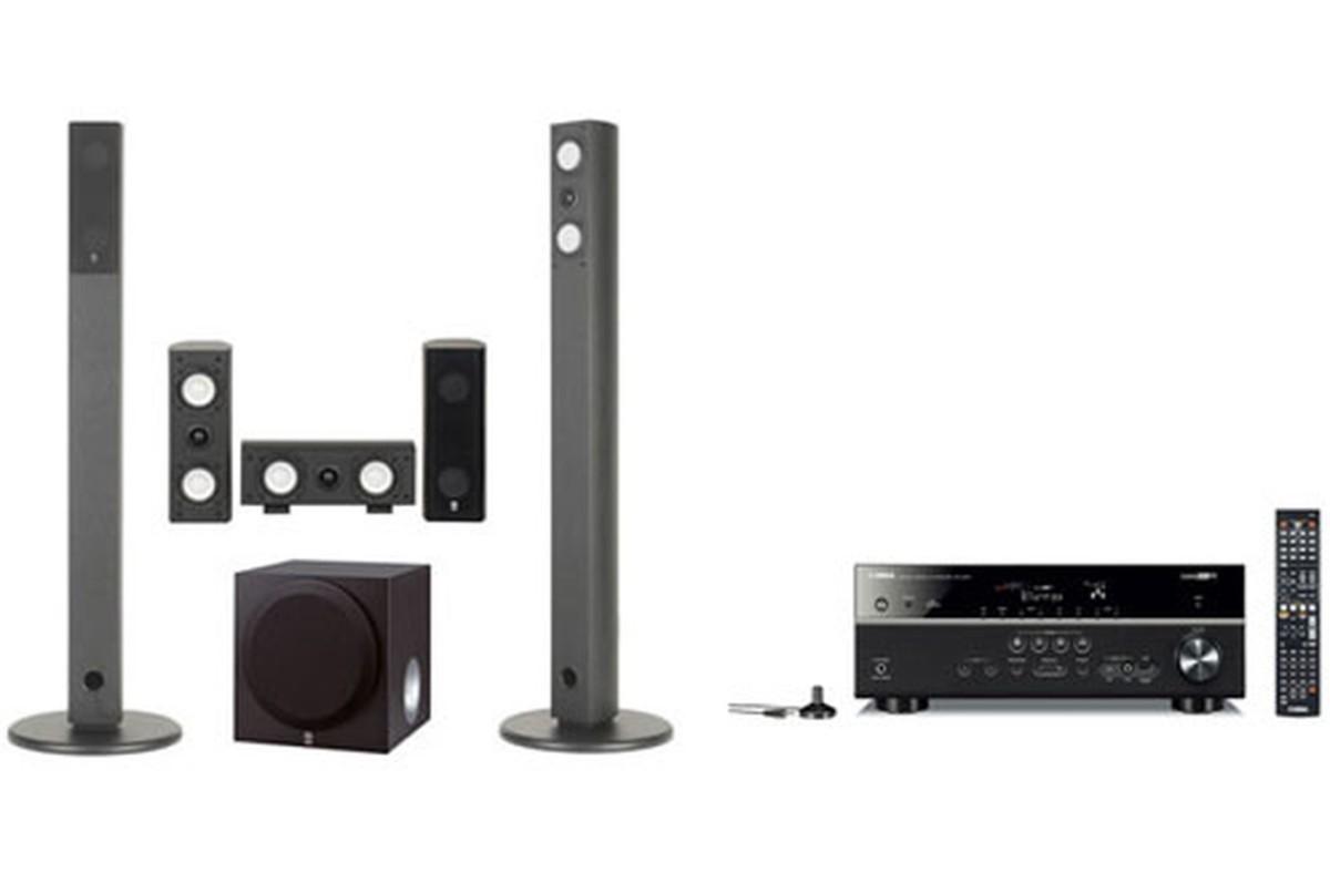 Pack Ampli + enceintes Yamaha RXV473BL + NS AP7800 RXV473 NSAP7800