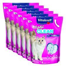 VITAKRAFT Litière pour chat Magic Clean Lavande 6 x 5 Litres 30L sans