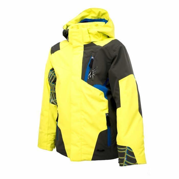 Veste de ski Enfant Spyder Challenger Membrane Xt.L. Imperméable