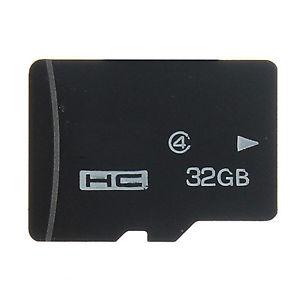 32 GO GB Class 4 Micro SD TF Flash Carte Mémoire Memory