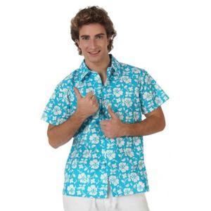 Chemise Hawaien Bleu Homme Achat / Vente accessoire déguisement