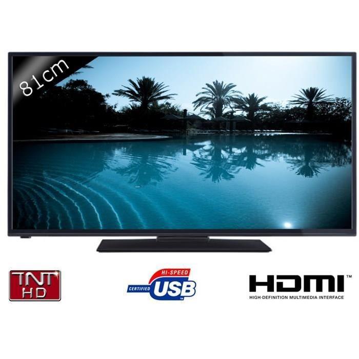 CONTINENTAL EDISON 32280 TV LED HD 81cm (32″) téléviseur led, avis