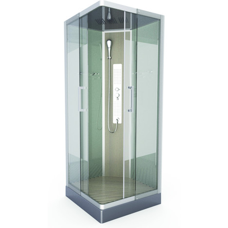 Cabine douche 90 90 topiwall for Prix cabine douche