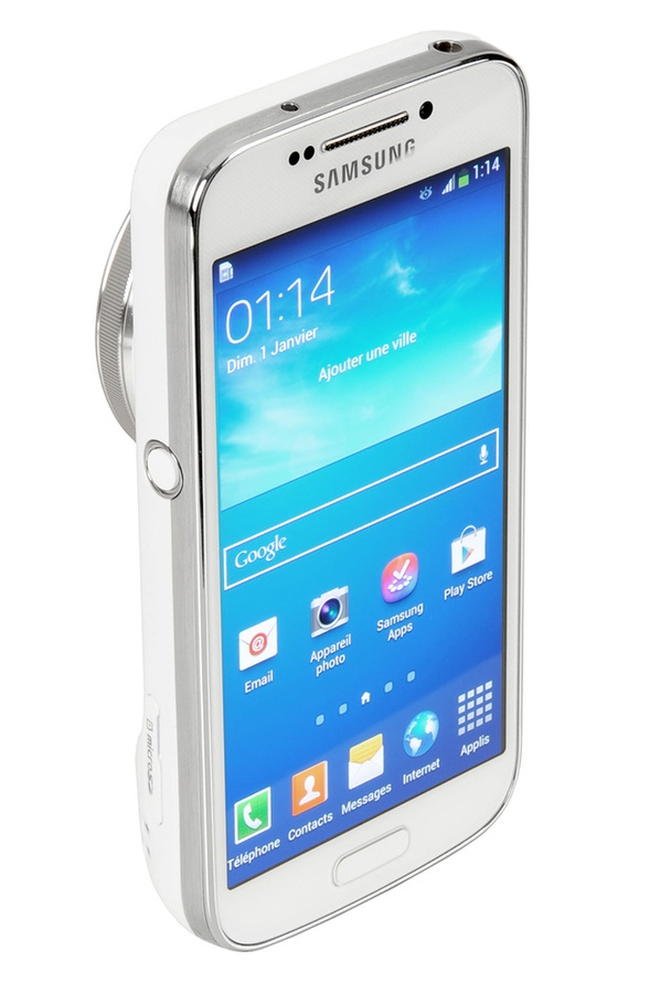 Appareil photo compact Samsung Galaxy S4 Zoom Blanc GALAXY S4 ZOOM
