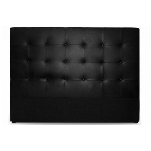 lit en cuir topiwall. Black Bedroom Furniture Sets. Home Design Ideas