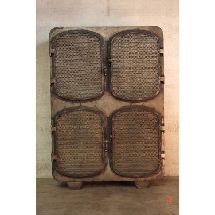armoire industrielle design bateau Achat / Vente armoire de chambre