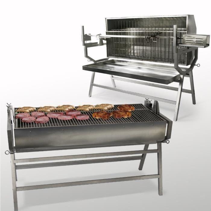 / Vente barbecue BBQ Grill PRO INOX LATERALE Soldes *