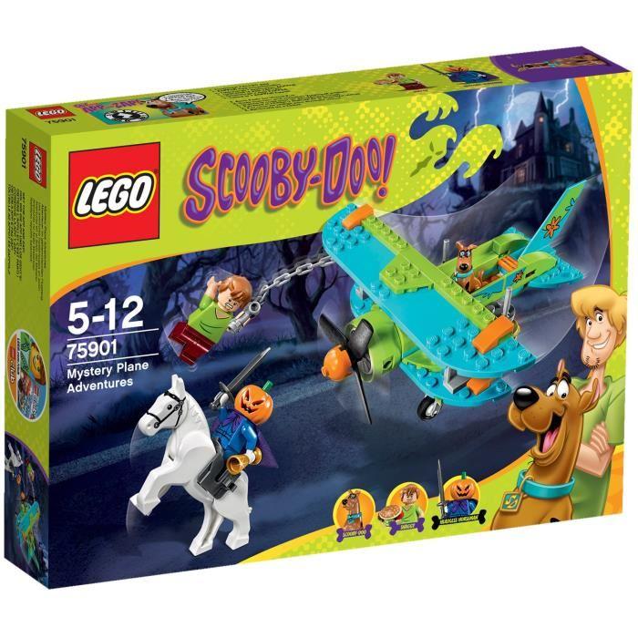 LEGO Scooby Doo 75901 Les Aventures mystérieuses en Avion Achat