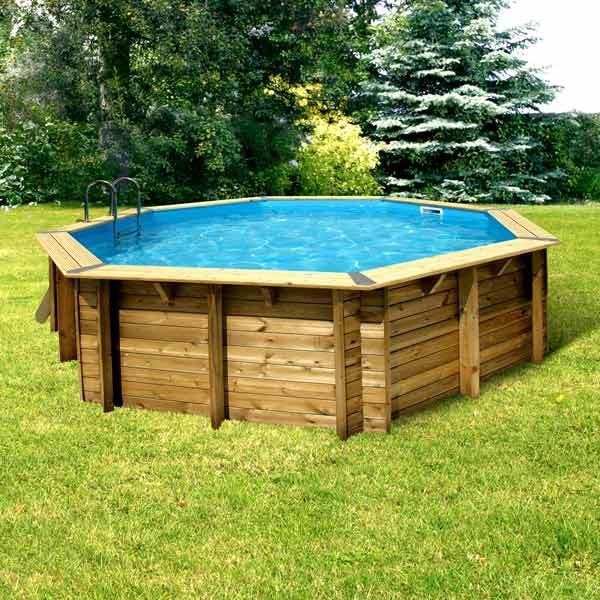 piscine bois octogonale pas cher - Piscine Bois Solde