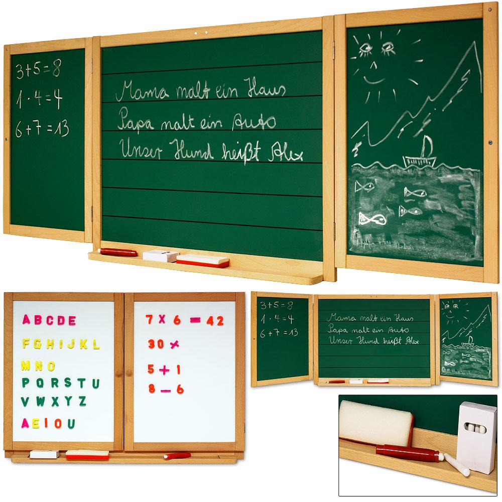 Tableau Double Sens Pour Enfants Tableau À Craie Et Magnétique