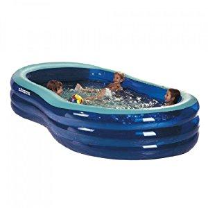 Simex 46255 Piscine gonflable Sport St Tropez 200 x 115 x 53 cm (Bleu