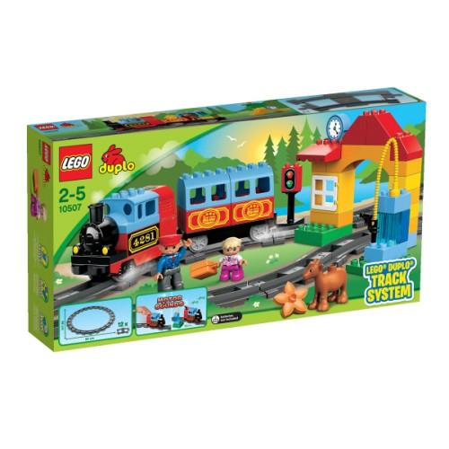 Premier train Duplo ville Lego pour enfant de 2 ans à 5 ans Oxybul