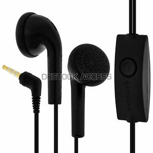 Ecouteurs Kit Main Libre Noir d'Origine pour Samsung Galaxy S5 mini