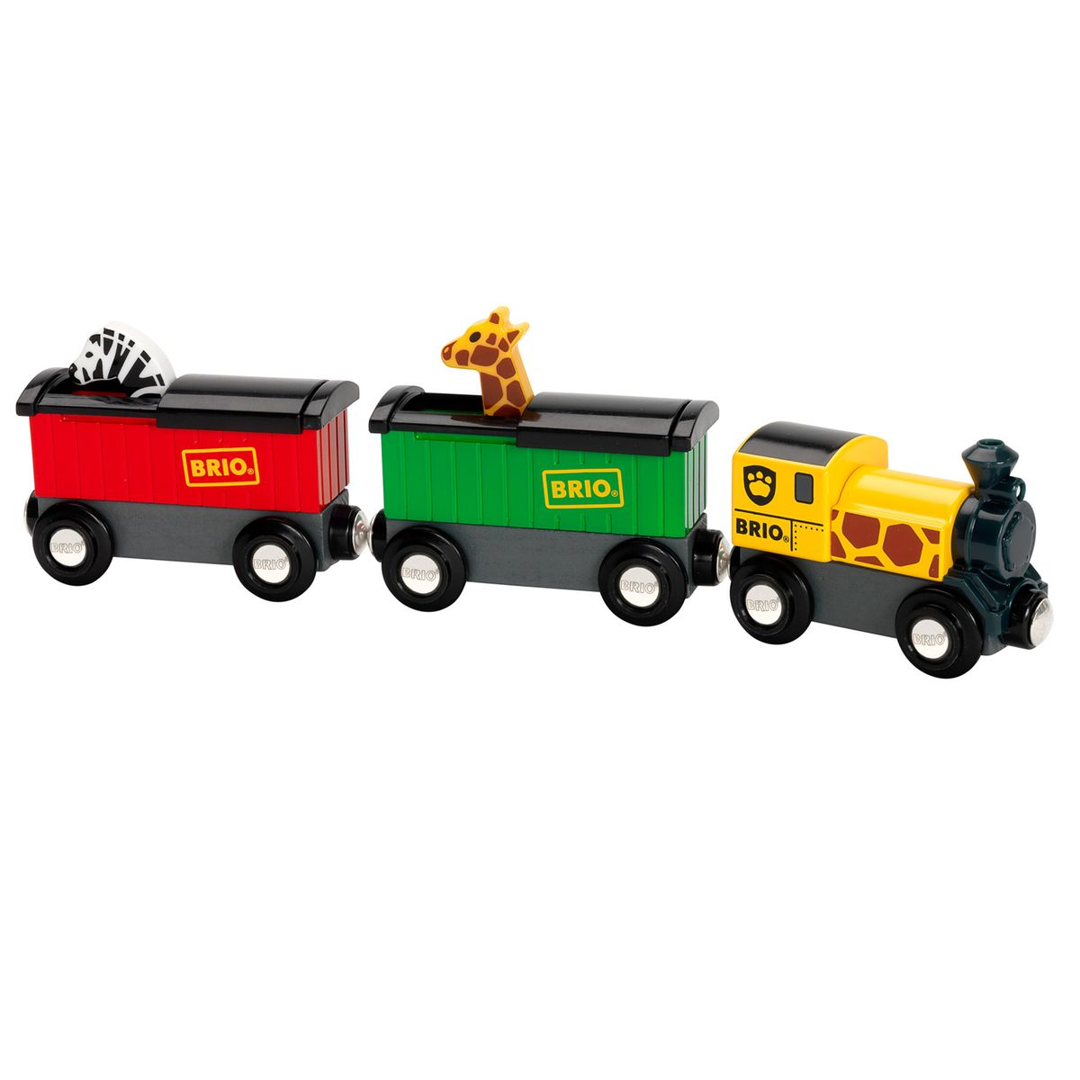 Train brio : train safari Brio
