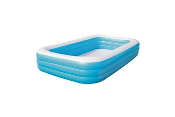 Piscine enfant Piscine Autoportante Rectangulaire Deluxe Bleue 305 x