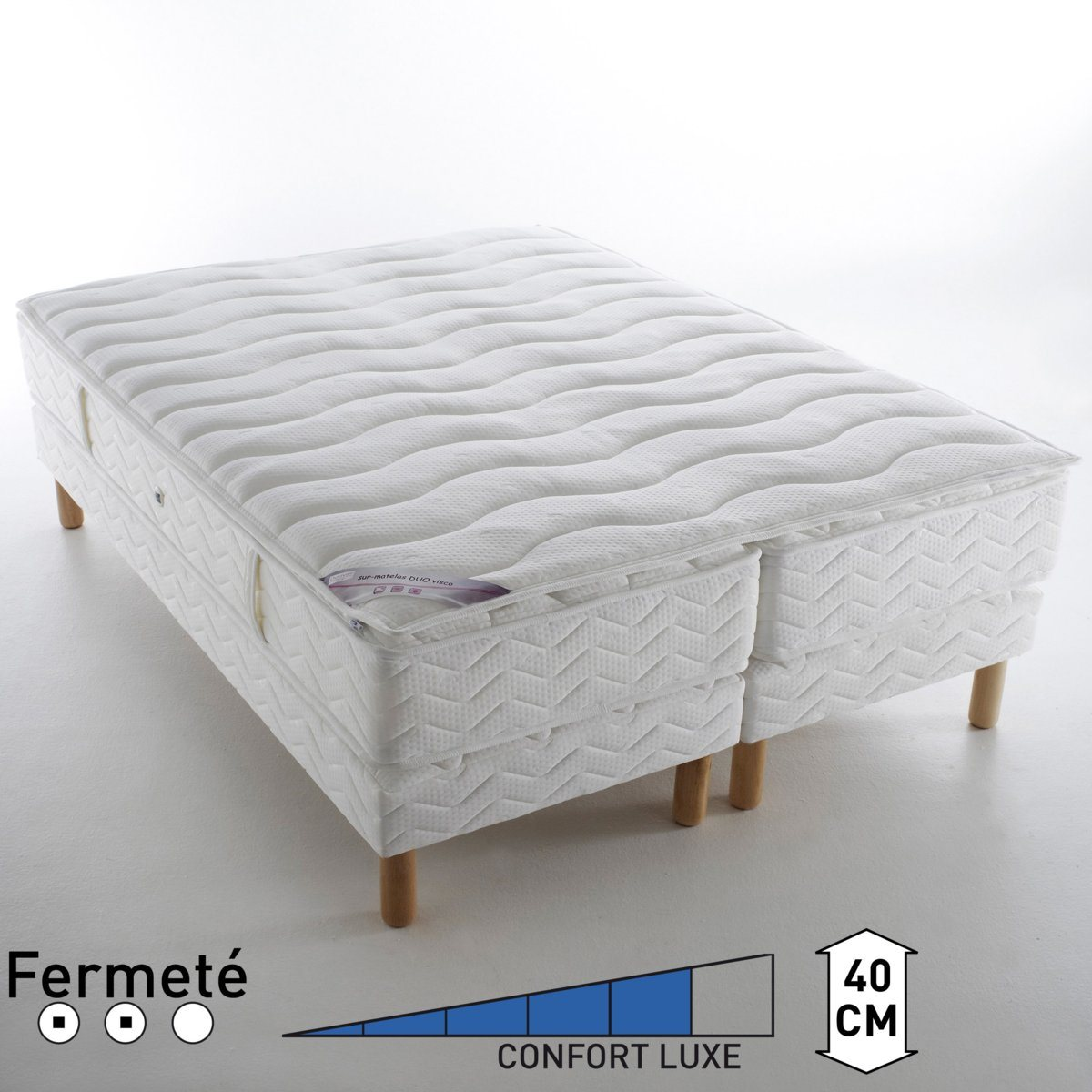 Sommier et matelas topiwall for Lit 80x190 but