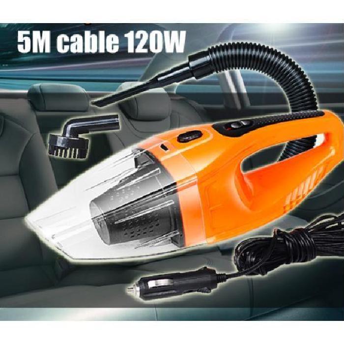 ® Voiture Aspirateur 12V 120W eau et sec Achat / Vente aspirateur