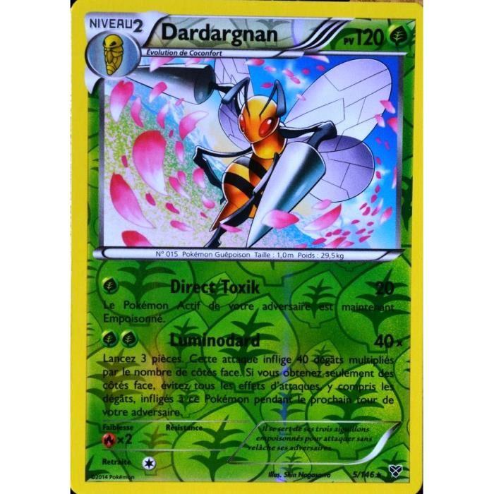 carte Pokémon 5 146 Dardargnan 120 PV XY Achat / Vente carte a