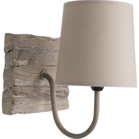 Applique Rekup, 1 x 40 W, bois naturel, COREP |