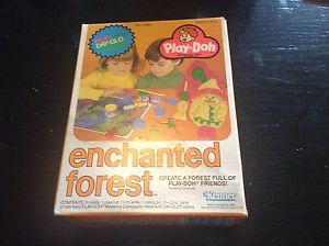 Play doh Enchanted Forest Modeling Set 1979 Never Opened Vintage Toys