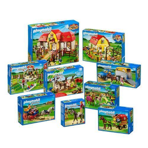 Playmobil topiwall - Playmobil haras ...
