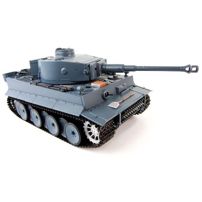 CHAR TANK RADIOCOMMANDE GERMAN TIGER 1 Tank radiocommandé 1/16ème
