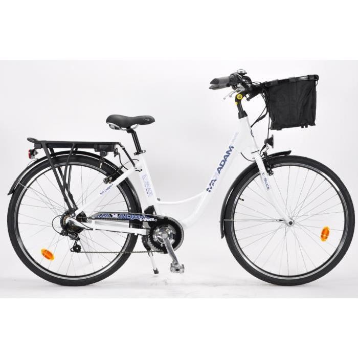 MAKADAM Vélo Electrique E BALADE 36V/8,8Ah Mixte Prix pas cher