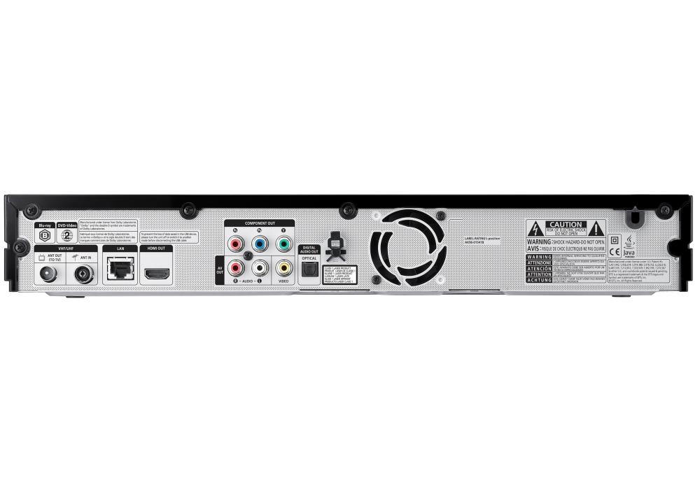 Samsung BD D8500M Double Tuner HD PVR 500 Go Disque Dur Enregistreur