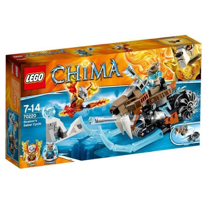 LEGO® Legends of Chima 70220 La moto sabre Achat / Vente assemblage
